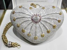 World's Most Expensive Purse Worth $3.8 Million. That's a lot of bling.
