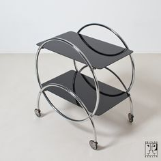 Art Deco tea trolley    STYLE:Art Déco