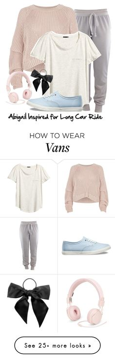"""Requested - Abi Long Car Ride"" by stephlv on Polyvore featuring River Island, H&M, Vans, Urbanears and L. Erickson"