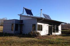Off Grid Modern Prefab House Heads In To Spring Break