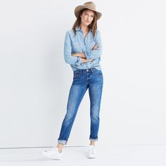The Slim Boyjean in Walton Wash : boyjeans | Madewell