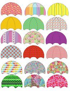 Regen - Knutselideeën - UK&Puk. Paraplu