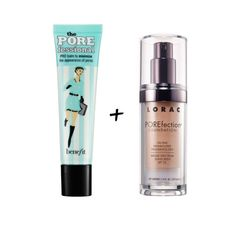 Poreless - In this powerful duo dedicated tominimizing pore size, asilky, lightweight formula works wonders with anoil-free foundation toprovide a smooth, flawless complexion.