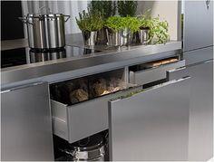 modern kitchen design ideas, latest trends in kitchen cabinets and islands Modernspacesnyc.com