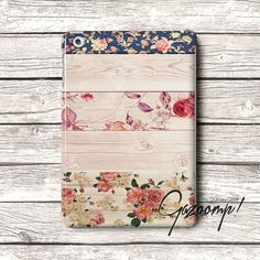 Cute Floral Pattern iPad Air Case iPad Case iPad 2 por Gazooomp