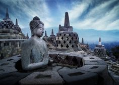 Borobudur Temple, Central Java, Indonesia/Scott Frances Photography