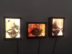 light boxes Art Projects, Objects, Boxes, Frame, Home Decor, Picture Frame, Crates, Decoration Home, Room Decor