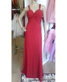 d7fff23424 Vestidos de fiesta largos lisos · Vestido Escote Corazón Tirantes Pedrería