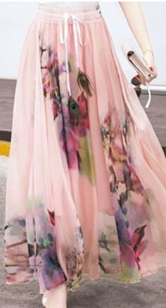 floral maxi skirt                                                                                                                                                                                 More
