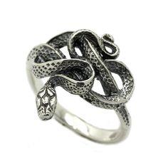 Snake Women's Ring Sterling Silver 925 SKU k431 925 Silver, Sterling Silver Rings, Ladies Silver Rings, Snake, Plating, Wedding Rings, Engagement Rings, Pendant, Metal