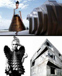 Moda e arquitetura: semelhanças e inspirações