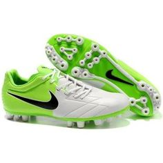 http://www.asneakers4u.com/ Nike Total 90 Laser IV AG Artificial Grass White Green Black Nike T90 Football Shoes