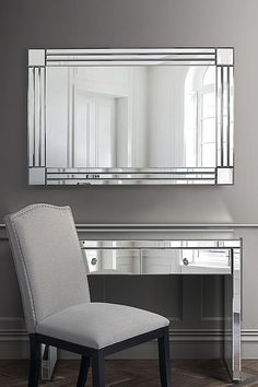 Stream Rectangle Elegant High-quality Wall Mirror | My Furniture Palette, My Furniture, Dining Bench, Wall Mirror, Mirrors, Luxury, Design, Home Decor, Elegant