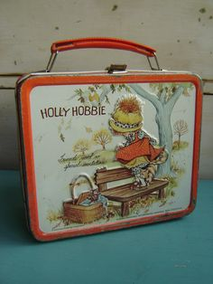 Holly Hobbie Vintage 70s Friends Lunch Box by VintageIdeology, $20.00