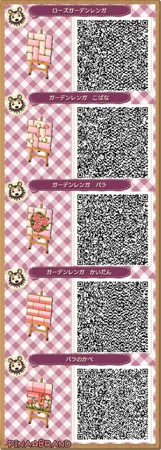 New leaf qr paths only resourcetree wood flooring and for Wood floor qr code animal crossing