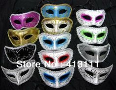 Masquerade masks trophonema cardan dance party colored drawing eyes mask  beautiful for women/men,kid/adult Hot