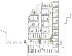 Flexible micro-housing in Seoul is a communal micro-neighborhood : TreeHugger