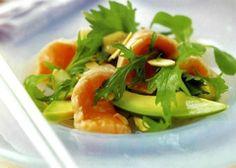 Insalata sake to avocado no o sashimi - La ricetta di Buonissimo