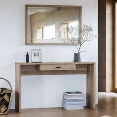 Gallery Hudson Kielder console table in oak wood #livingroomfurniture #livingroom #modernfurniture #interiordesign #homedecor #trend #home #interiors