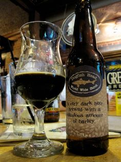 World Wide Stout Brewery: Dogfish Head Brewery Alcohol by Volume (%): 15 to 20 Beer Brewing, Home Brewing, Beer Bucket, Spirit Drink, Samuel Adams, Dark Beer, Spiced Coffee, Brewing Equipment, How To Make Beer