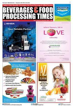 Beverage & Food Processing Times December 2016