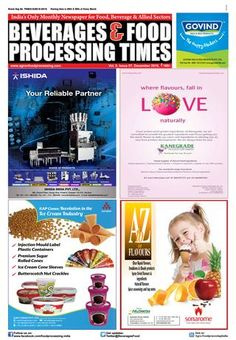 Beverage & Food Processing Times December 2016
