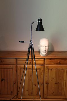 Stativlampe / Stehlampe im Bauhausstil von talentfrei auf DaWanda.com