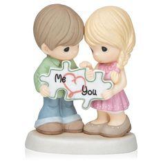 The Hunt Is Over Precious Moments Camo Wedding Figurine
