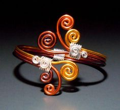 Overlapping Winds Adjustable Bracelet by melissawoods on Etsy, $18.00