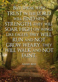 ISAIAH 40:29, AMEIN