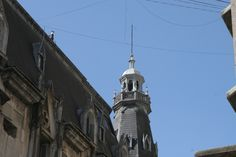Detalle de la cúpula de la ochava Marcelo T. De Alvear y Av. Santa Fé.Vista desde Maipú.
