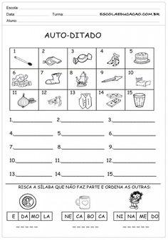Atividades de Português 1º ano - Ditado