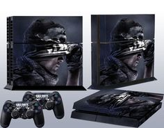 Newest Custom Black Game Sticker for PS4 Console 2 Controller Protector Skins #UnbrandedGeneric #Popgame