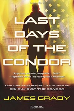 Last Days of the Condor/James Grady http://encore.greenvillelibrary.org/iii/encore/record/C__Rb1384695