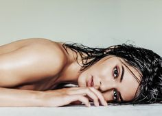 Coloured version: Kendall for 'Angels' photographed by Russell James.
