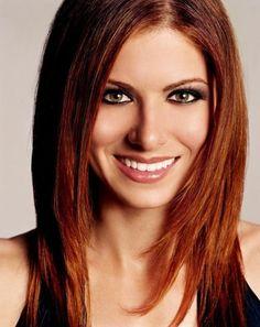 Debra Messing Hair Color Formula - Base Color: 4FR (3oz) 4MH (2oz ...