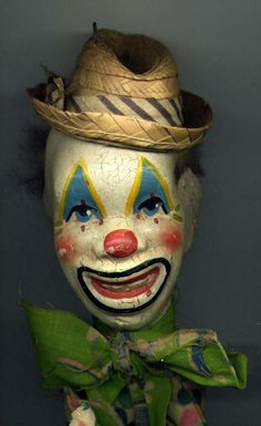 Mexican Clown Marionette 1960