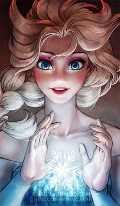 Elsa - Disney Animation Frozen.