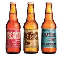 Beer labels, from Bogota