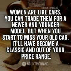 Women are like cars
