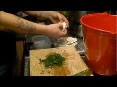 how to make ricotta cheese from whey - YouTube