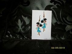 Betty+Rubble+Earrings+by+TBTT+on+Etsy,+$10.00