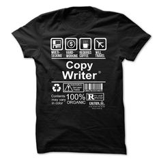 COPY WRITER T-Shirts, Hoodies. Check Price Now ==► https://www.sunfrog.com/No-Category/COPY-WRITER-54721569-Guys.html?id=41382