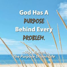 Purpose and Problems