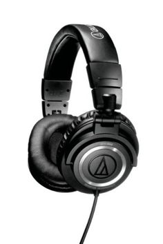 Audio-Technica ATH-M50 Professional Studio Monitor Headphones with Coiled Cable > Price: $119.15 > Click on the image for details and offers.