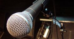 Sure SM58 stage mic