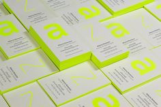BwT business cards on Behance