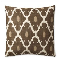 Ikat Printed Pillow