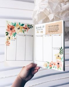 Bullet Journal Weekly Spread Layout