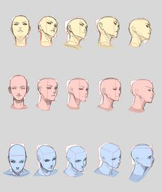 Drawing Heads in Perspective Practice by Vibratix on DeviantArt